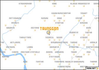 map of Taunggon