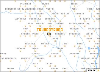map of Taunggyaung