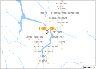 map of Taungkasi