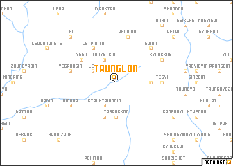 map of Taunglon