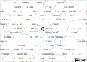 map of Taungoo