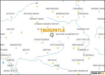 map of Taungpatle