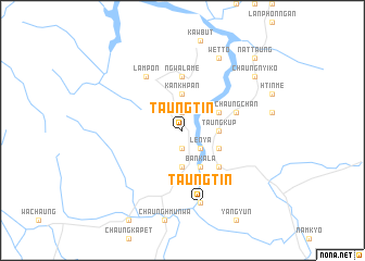 map of Taungtin