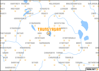map of Taungyadan
