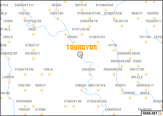 map of Taungyan