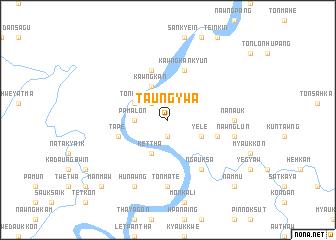 map of Taung-ywa