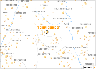 map of Tauripampa