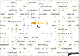 map of Tautenwind