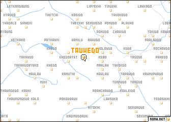 map of Tauwedo