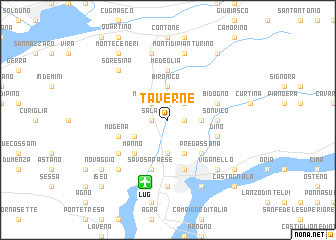 map of Taverne
