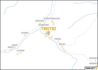 map of Tavitoz