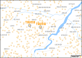 map of Tavna