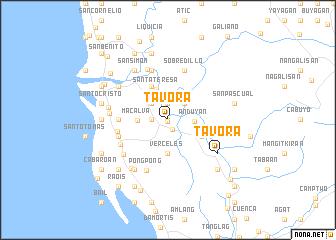 map of Tavora