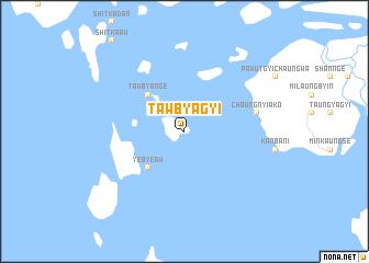map of Tawbyagyi