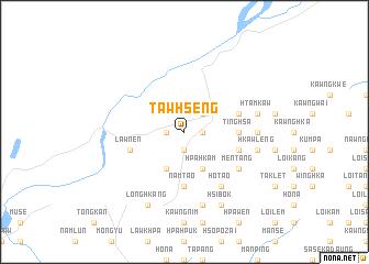 map of Tawhseng