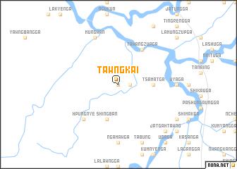 map of Tawngkai