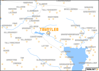 map of Tawnylea