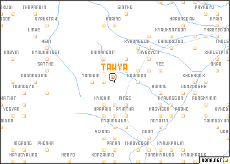map of Tawya