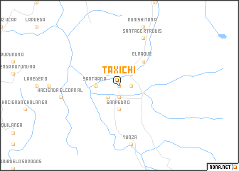 map of Taxichi