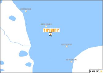 map of Taybiny