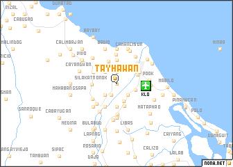 map of Tayhawan