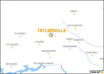 map of Taylorsville