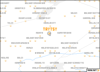 map of Taytsy