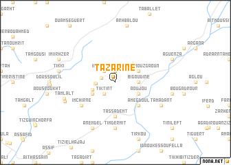 map of Tazarine
