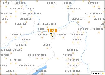 Taza Morocco map nonanet