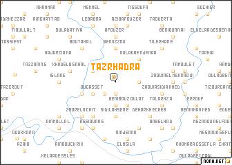 map of Tazrhadra