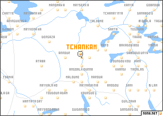 map of Tchankam