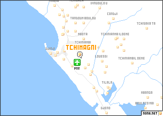 map of Tchimagni