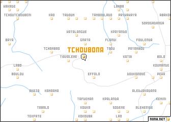 map of Tchoubona