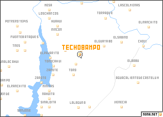 map of Techobampo