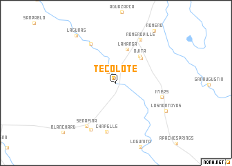 map of Tecolote