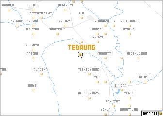 map of Tedaung