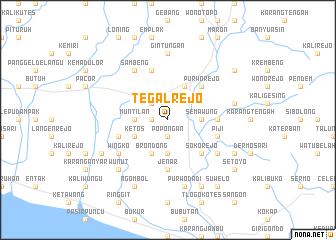 map of Tegalrejo