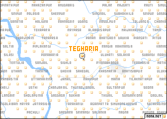 map of Tegharia