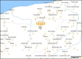 map of Tegot