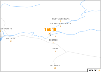 map of Tegra