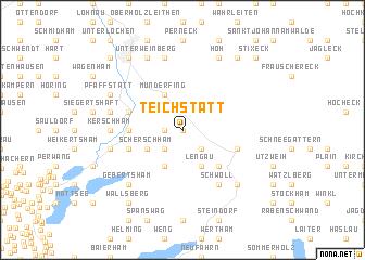 map of Teichstätt