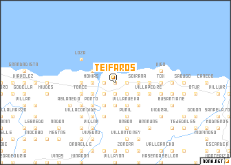 map of Teifaros