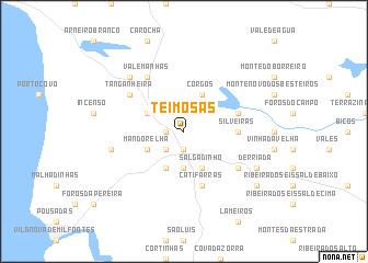 map of Teimosas