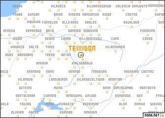 map of Teixidón