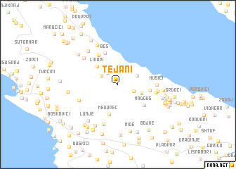 map of Tejani