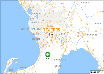 map of Tejeros