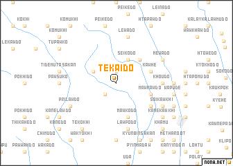 map of Tekaido
