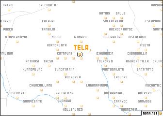 map of Tela