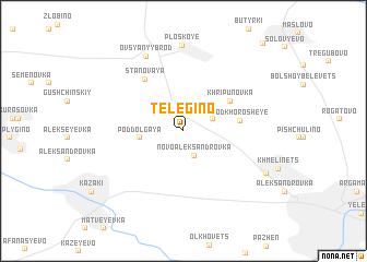 map of Telegino