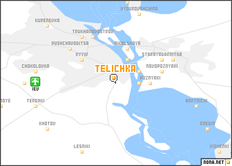 map of Telichka